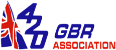 British International 420 Class Association logo